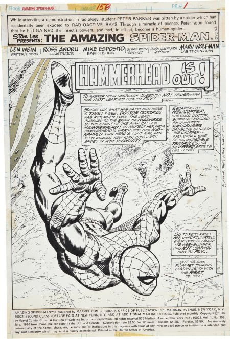 Ross Andru and Mike Esposito The Amazing Spider-Man #15