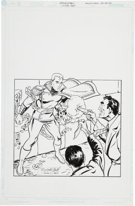 Mark Buckingham Kimota! The Miracleman Companion Cover