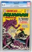 Showcase #30 Aquaman (DC, 1961) CGC VF+ 8.5 Off-white t