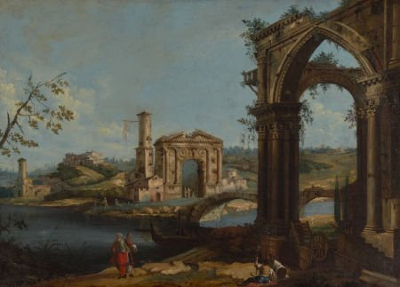 79002: Attributed to GAETANO VETTURALI (Italian, 1700-1