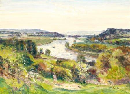 72004: GASTON SEBIRE (French, 1920-2001) Afternoon Walk