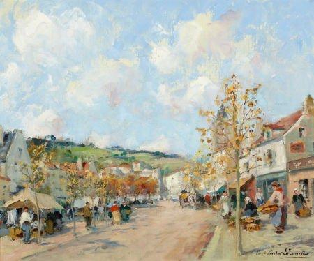 72007: PAUL EMILE LECOMTE (French, 1877-1977) Marche à