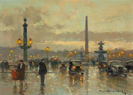 72008: EDOUARD-LÉON CORTÈS (French, 1882-1969) Place de
