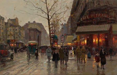 72009: EDOUARD-LÉON CORTÈS (French, 1882-1969) Porte St