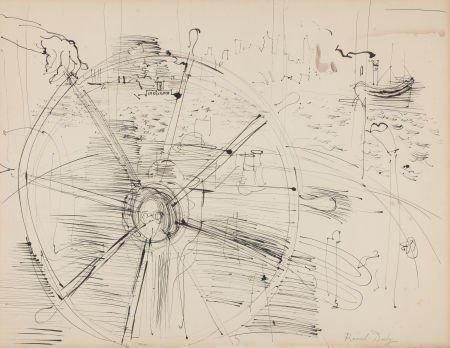 72013: RAOUL DUFY (French, 1877-1953) Scene du Port, ci