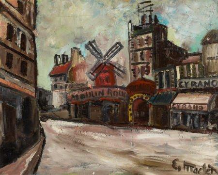 72016: ELISÉE MACLET (French, 1881-1962) Moulin de la G