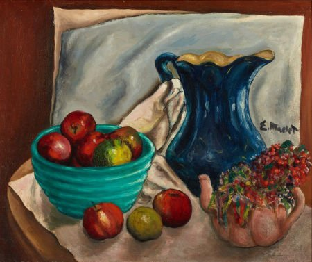 72018: ELISÉE MACLET (French, 1881-1962) Still Life wit