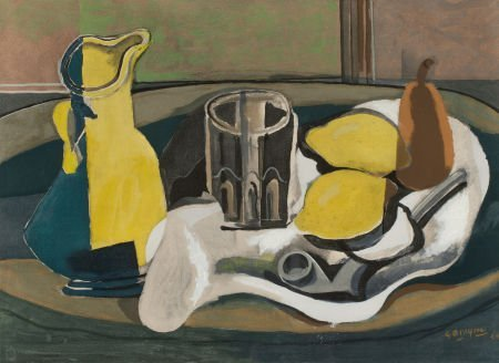 72019: AFTER GEORGES BRAQUE (French, 1882-1963) Nature