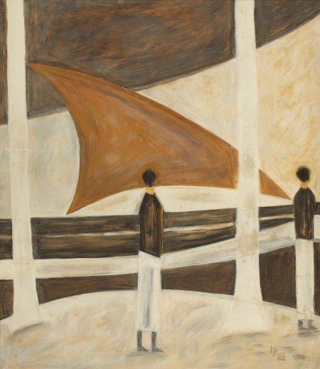 72021: IVAN PERIES (Sri Lankan, 1921-1988) Untitled, 19