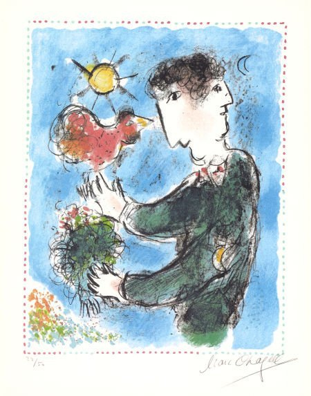 72022: MARC CHAGALL (French/Russian, 1887-1985) L'Auror