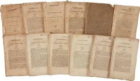 John Adams. Correspondence of the Late President Adams.