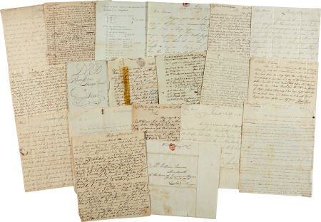 34023: Rhode Island Vernon Family Archive of more than