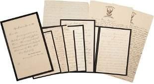 34067: Varina Davis Collection, including seven Varina