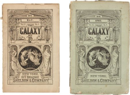 [George Armstrong Custer]. The Galaxy. Two Issues with