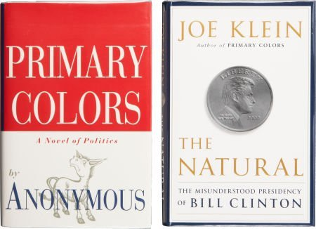 Joe Klein. Two Signed First Editions, including: Primar