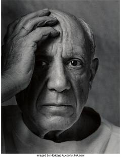 73213: Arnold Newman (American, 1918-2006) Pablo Picass