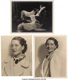 88023: MGM Studio (3) Photographs of Norma Shearer incl