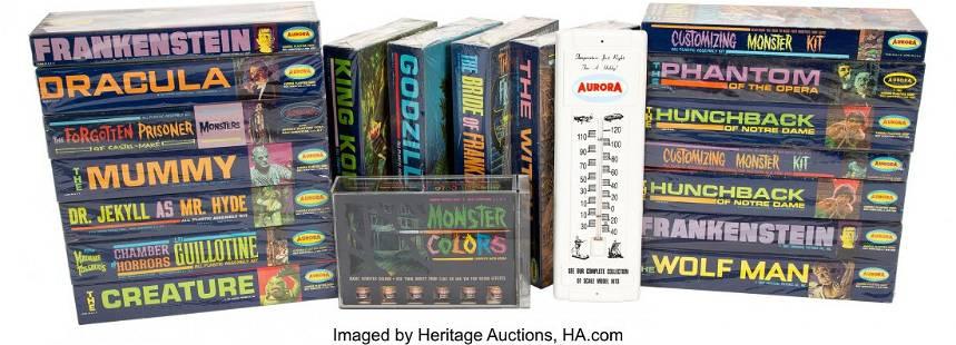 89037: Complete Vintage Set of (20) Aurora Monster Mode