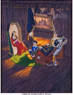 "89138: Original The Munsters ""Home Sweet Home"" Aurora M"