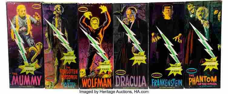 "89041: Vintage Set of (6) ""Frightening Lightning"" Auror"