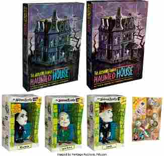 89050: Vintage (2) Aurora Addams Family House Model Kit