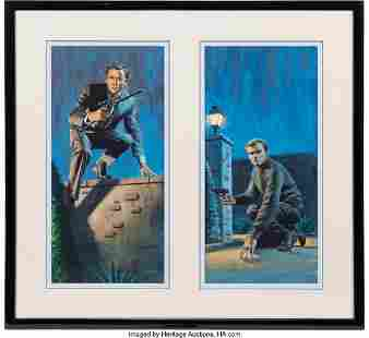 89059: Original Pair of The Man from U.N.C.L.E. Aurora