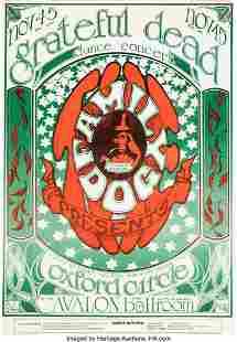 """11149: FD-33 Grateful Dead 1966 Avalon Ballroom """"Logo"""""""