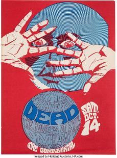 11159: Grateful Dead 1967 Santa Clara, CA Continental C
