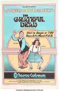 """11160: BG-288 The Grateful Dead 1973 """"A Swell Dance Con"""