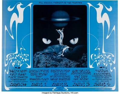 11112: BG-287 Grateful Dead 1971 Fillmore West Concert