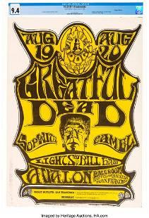 """11143: FD-22 Grateful Dead """"Frankenstein"""" 1966 Concert"""
