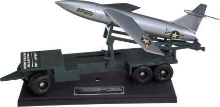41001: Early 1950s Martin B-61 Matador Missile Model wi