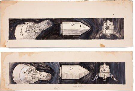 41006: NASA Original Space Art Collection.
