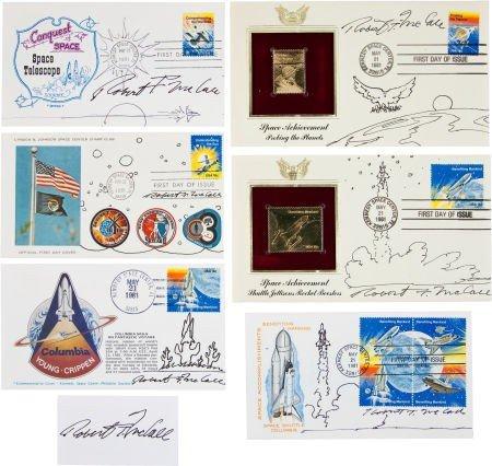 41008: Robert T. McCall: Collection of Six Original Sig