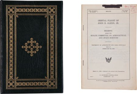 41019: John Glenn: A Memoir Signed and Numbered Limited