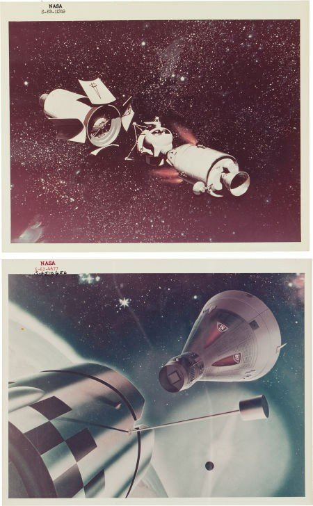 41021: Pre-Gemini Era: Collection of Original NASA Phot
