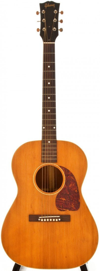 54001: 1953 Gibson LG-3 Natural Acoustic Guitar, #Y5667