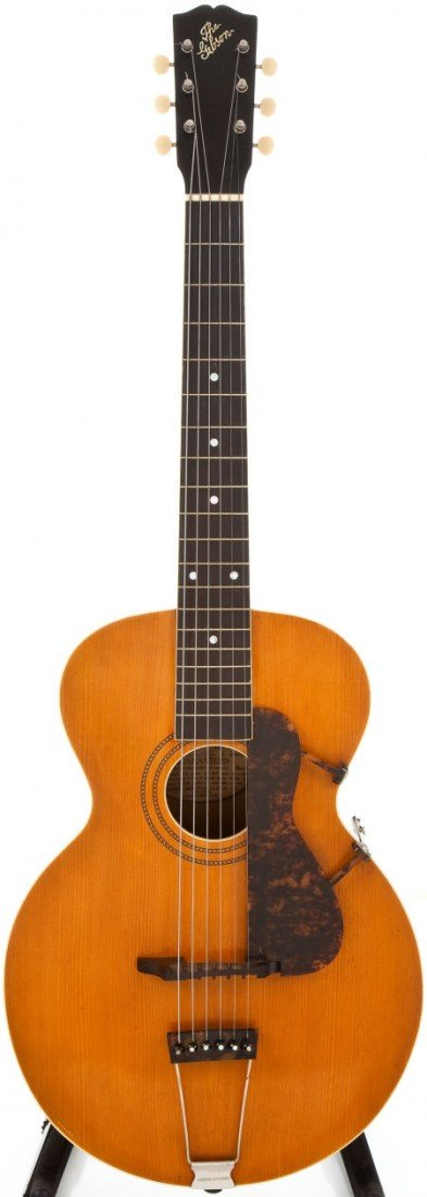 54005: 1918 Gibson L-1 Natural Acoustic Guitar, #40401.