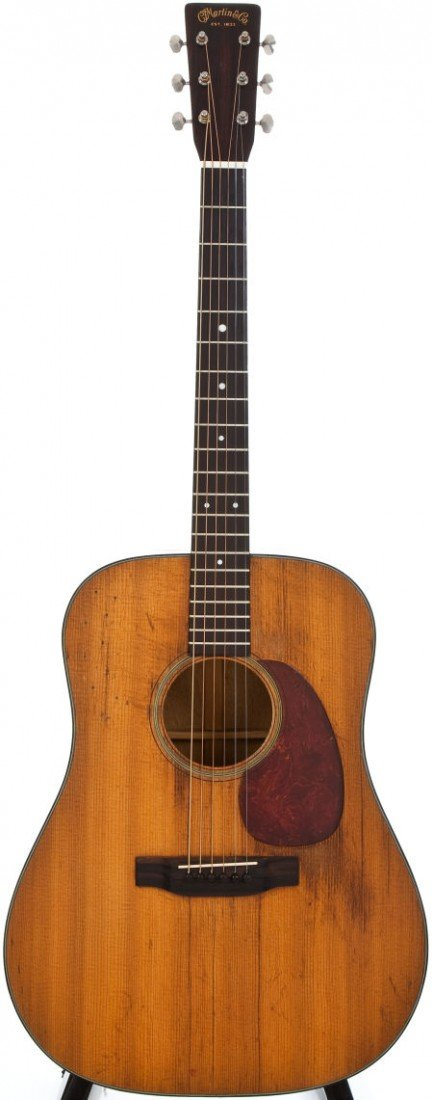54088: 1948 Martin D-18 Natural Acoustic Guitar #107710