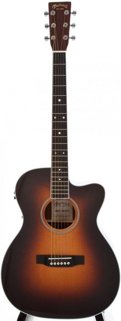 54135: 2010 Martin 000C-16RGTE AURA Sunburst Acoustic E