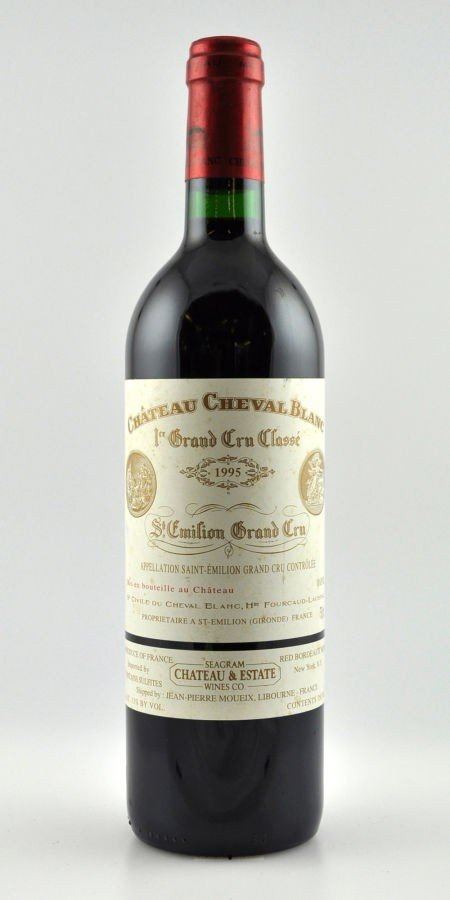 4: Chateau Cheval Blanc 1995  St. Emilion 10lbsl, 3lscl