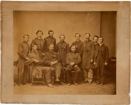 Civil War Albumen Portrait, Probably by Brady, Of Col./