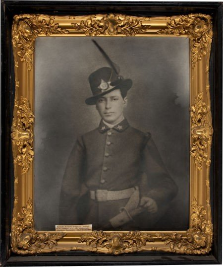 Great C. 1870 Copy of a Civil War Period Image of Richa
