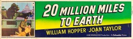 83001: 20 Million Miles to Earth (Columbia, 1957). Bann