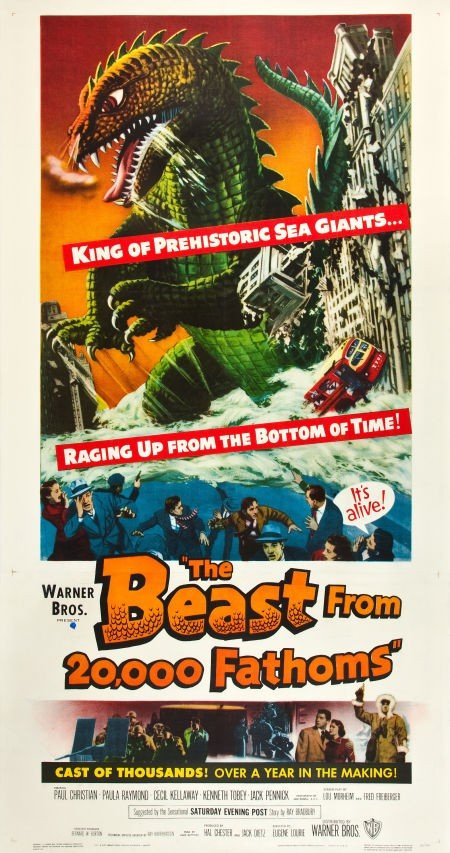 83002: The Beast from 20,000 Fathoms (Warner Brothers,