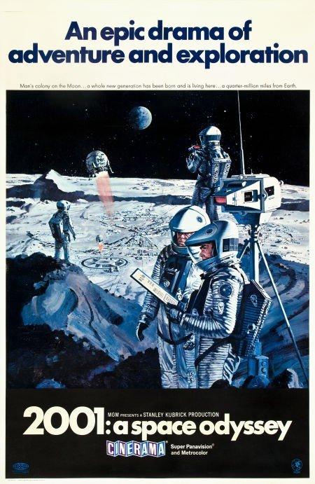 83007: 2001: A Space Odyssey (MGM, 1968). Cinerama One