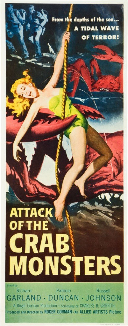 83008: Attack of the Crab Monsters (Allied Artists, 195