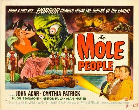 83019: The Mole People (Universal International, 1956).