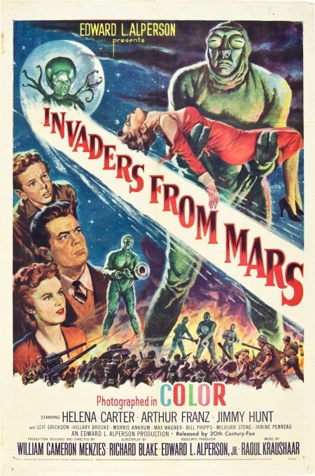 83418: Invaders from Mars (20th Century Fox, 1953). One
