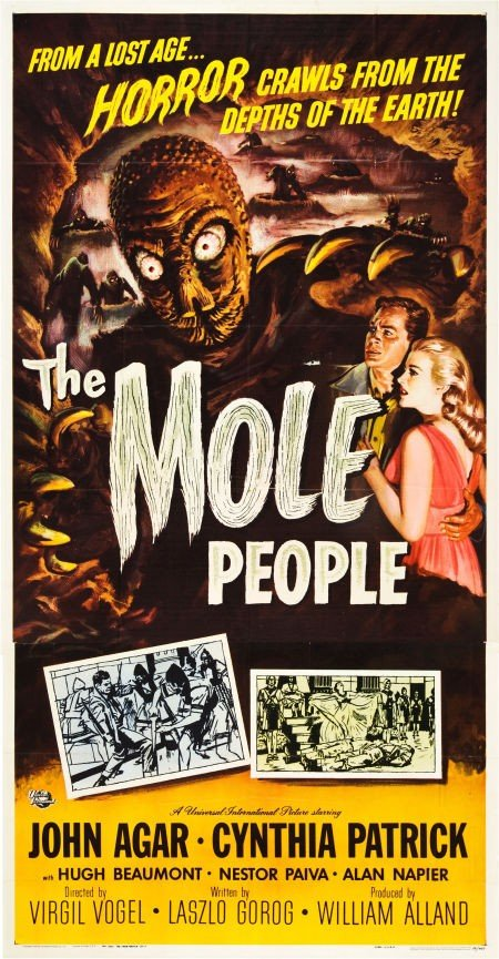 83020: The Mole People (Universal International, 1956).